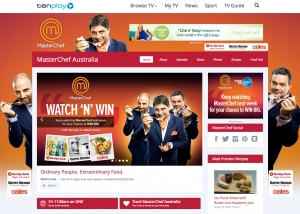 Channel Ten Master Chef promotion
