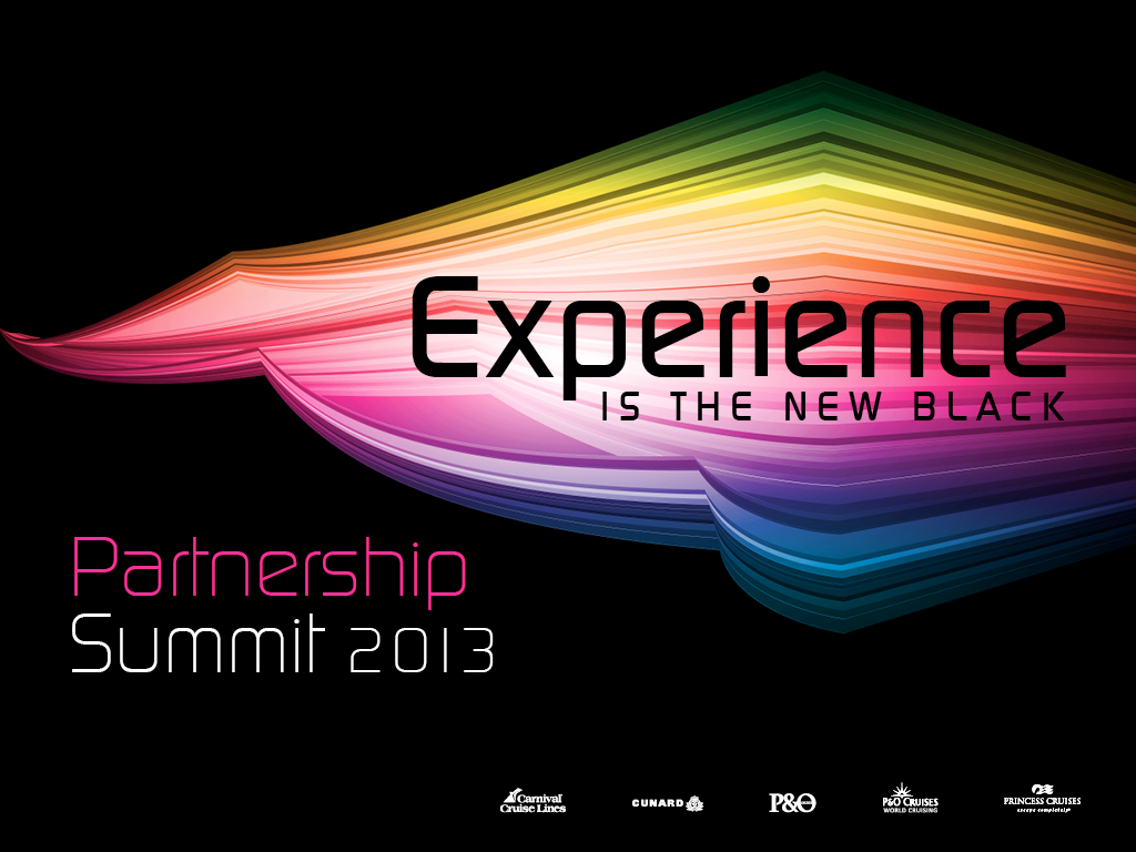Carnival Partnership Summit 2013 Powerpoint background