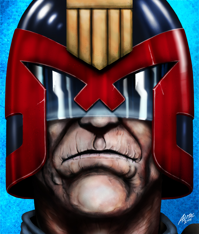 judge Dredd in old age