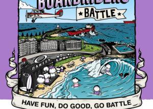 Australian Boardrider Battle Poster