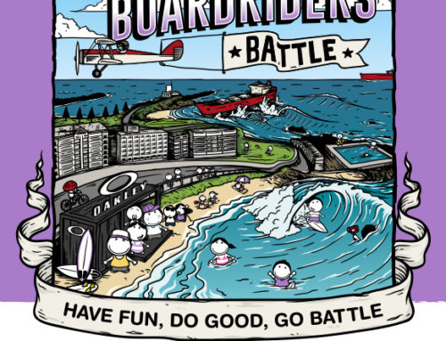 Australian Boardrider Battle Poster