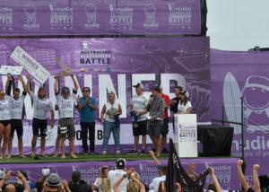 Australian Boardrider Battle Podium