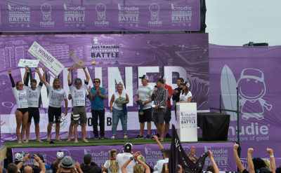 Australian Boardrider Battle Podium
