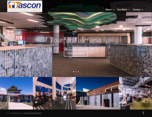 Tascon Constructions Website