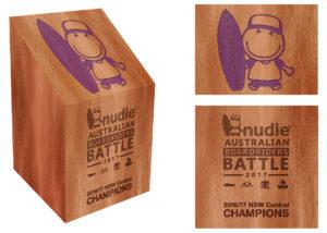 nudie Australian Boardrider Battle Trophy