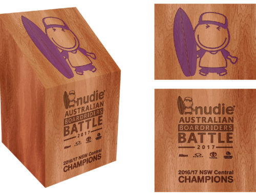 nudie Australian Boardrider Battle Trophy