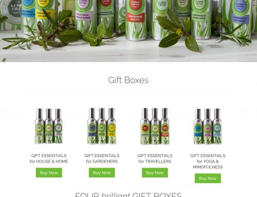 The Lemongrass Trading eCommerce Website