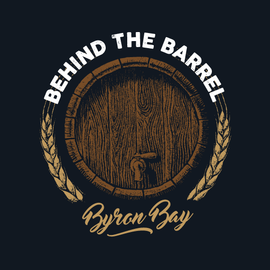 Behind the Barrel Byron Bay Logo