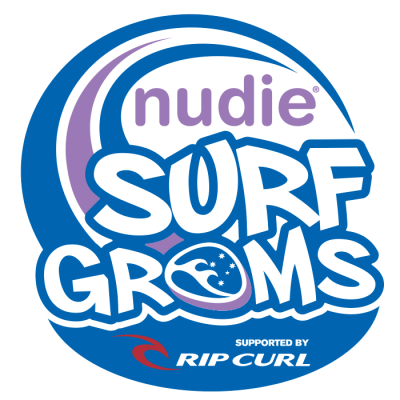 nudie SURF GROMS Logo