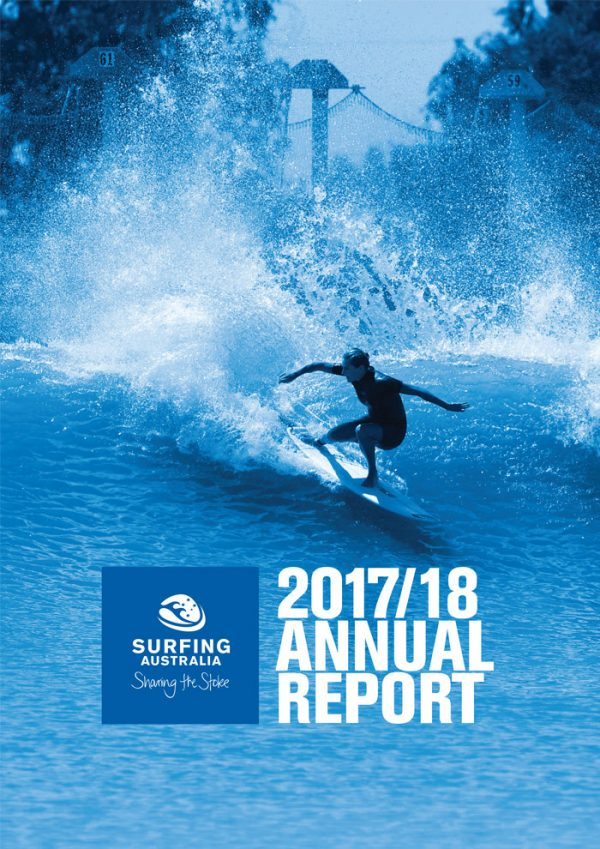 Surfing Australia 2018 Annual Report