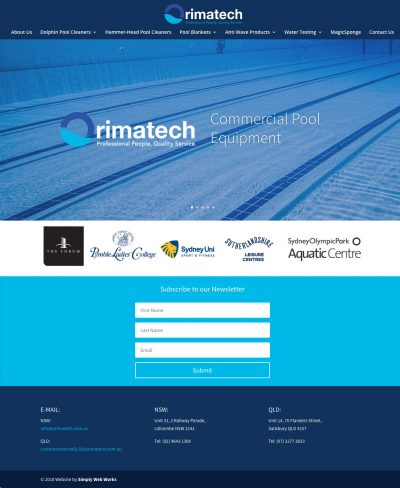 Orimatech WordPress Website