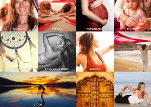 Red Tent Yoga WordPress Website