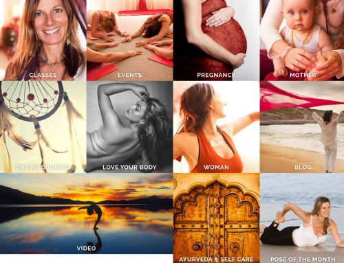 Red Tent Yoga WordPress Website