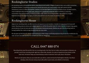 RockingHorse Studios WordPress Website